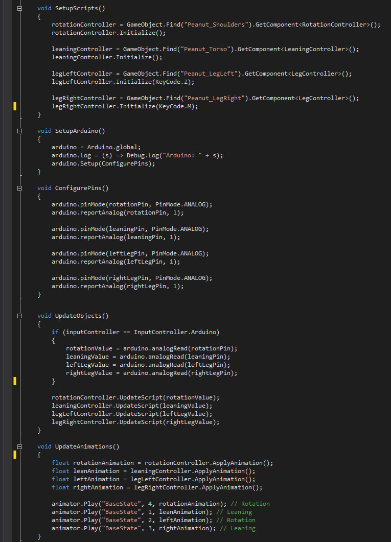 One script to update every limb of the monster