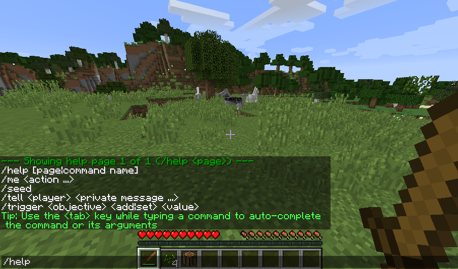 My Console submodule is inspired by the console in Minecraft